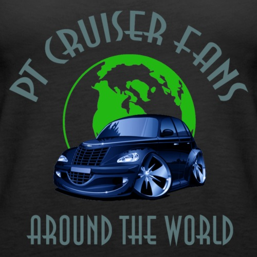 PT Cruiser around the world Blue