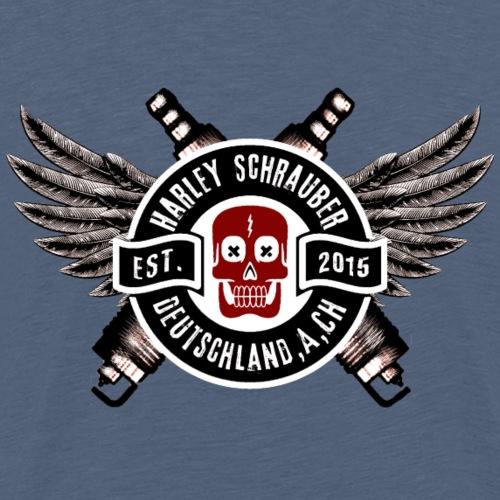 Schrauber D,A,CH Logo s/w