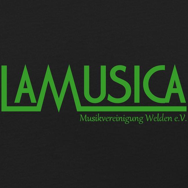 T-Shirt LaMusica mit weiß