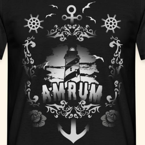 Amrum T Shirt | coole Geschenkidee für Insel-Fans