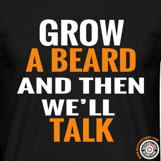 Grow a beard (men)