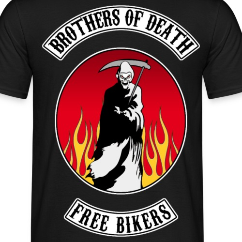 Brothers of death bikers