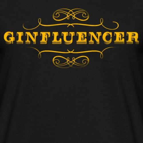 Gin T-Shirt Ginfluencer coole Geschenkidee