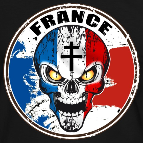 Skull croix de Lorraine