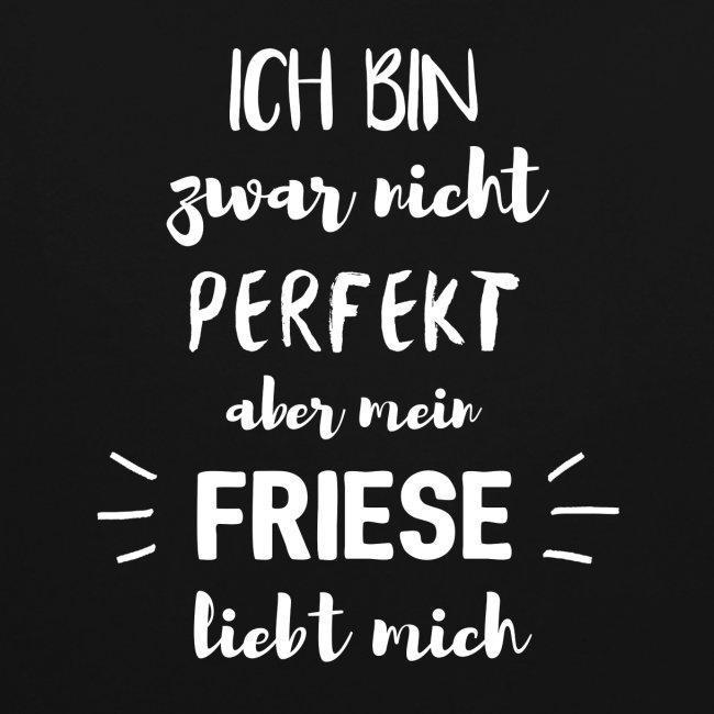 Mein Friese liebt mich - Hoodie