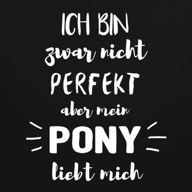Mein Pony liebt mich - Hoodie