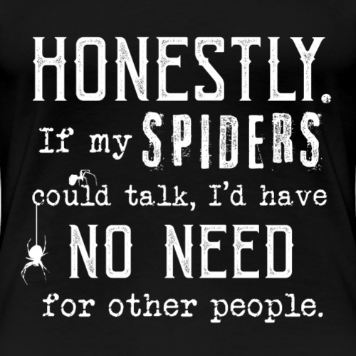 Spiders Could Talk