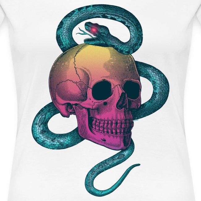 Skull&Snake (rainbow version)