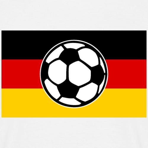 Fußball Deutschland Flagge