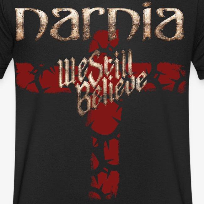 We Still Believe Cross T-shirt (V-neck)