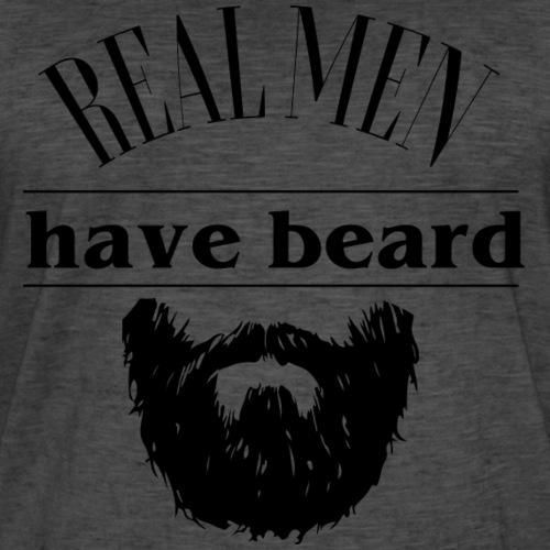 Real men have beard