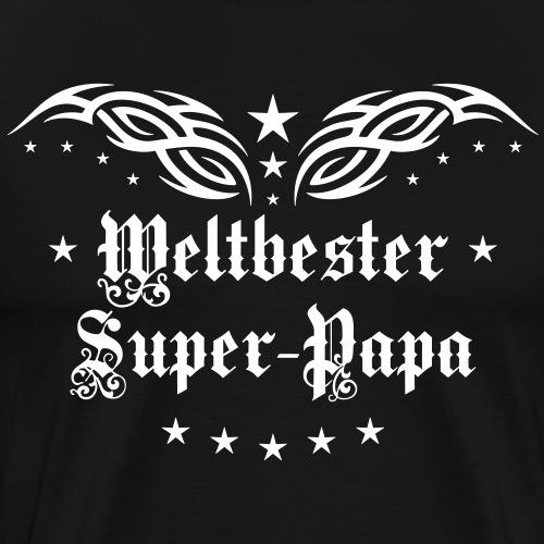 37 Weltbester Super Papa Tattoo Tribal Wings Star