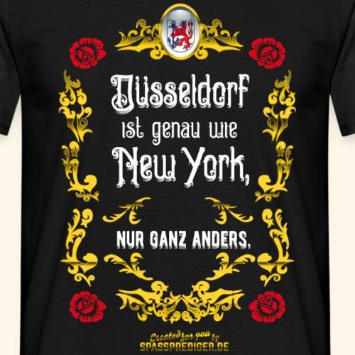 Düsseldorf T Shirt Design im Vintage Look
