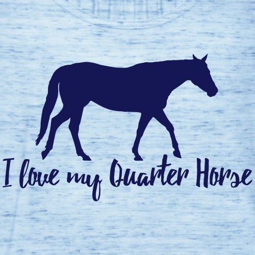 I love my Quarter Horse