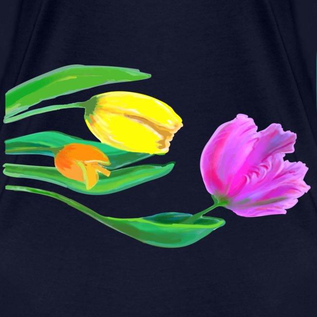 FrauenT-Shirt Tulpen