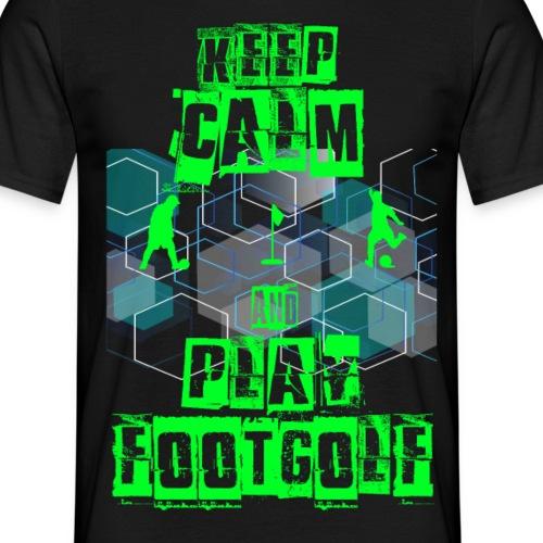 keep calm & play FootGolf