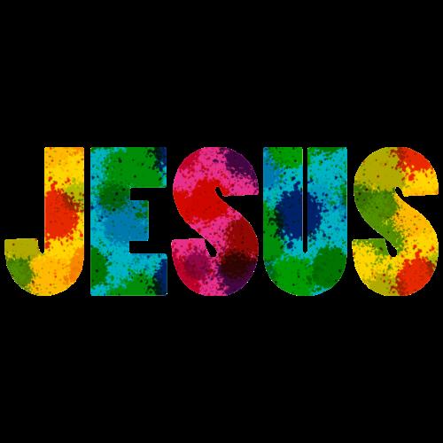 Jesus - Colourful