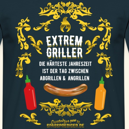 Grill T Shirt Extremgriller