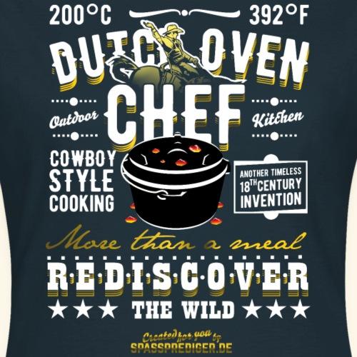 Grill T Shirt Design Dutch Oven Chef