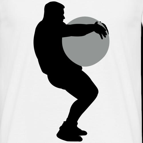 Strongman lifts Stone