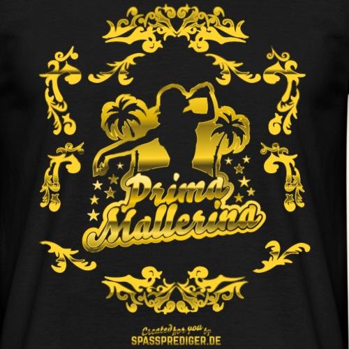 Malle-Shirt-Design Prima Mallerina