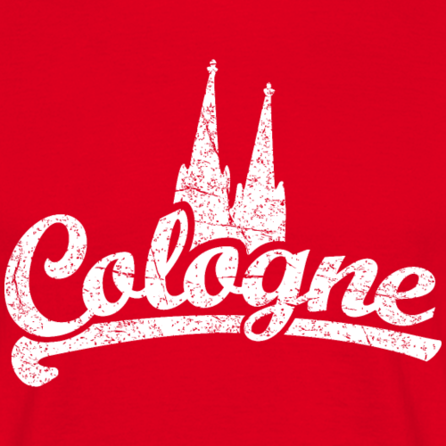 Cologne Classic Dom Köln Design (Vintage Weiss)