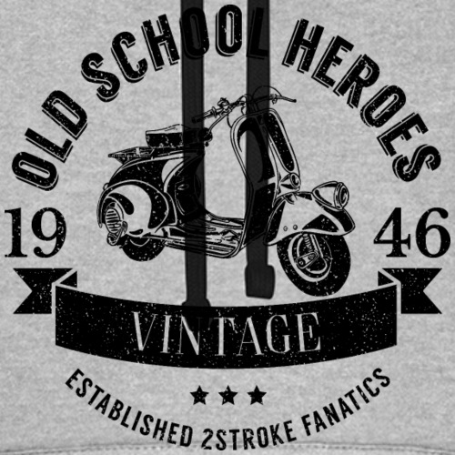Old School Heroes black