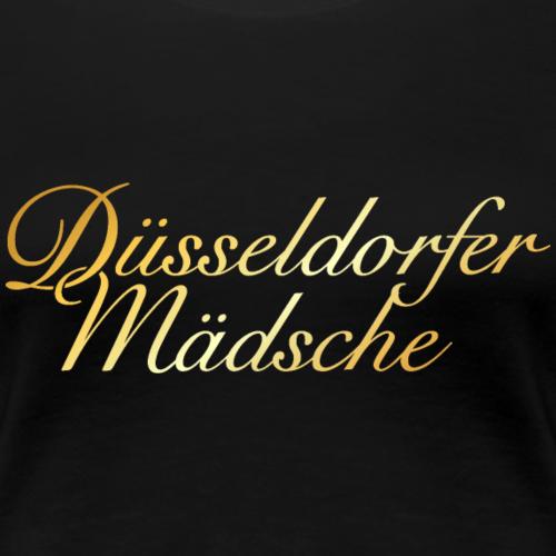 Düsseldorfer Mädsche Düsseldorf Design (Gold)