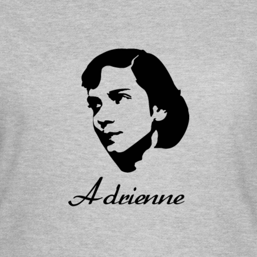 Adrienne Rich Silhouette Famous Writer Poets shirt