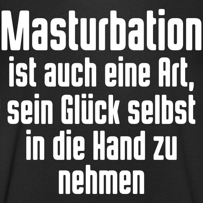 Masturbation sein Glück in der Hand