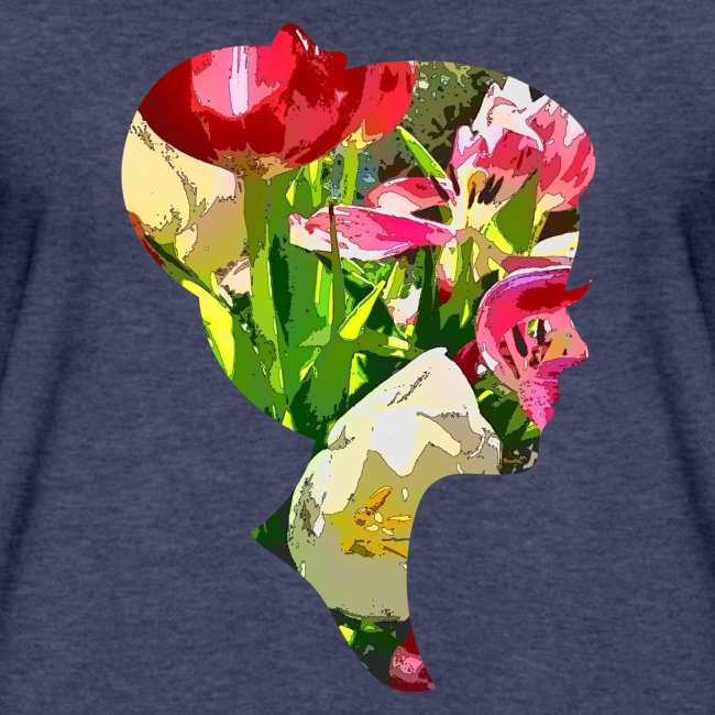 Tulpenpastell-Dame