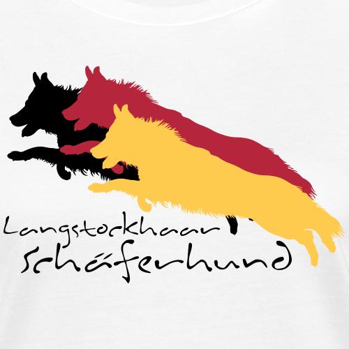 langstockhaar schäferhund