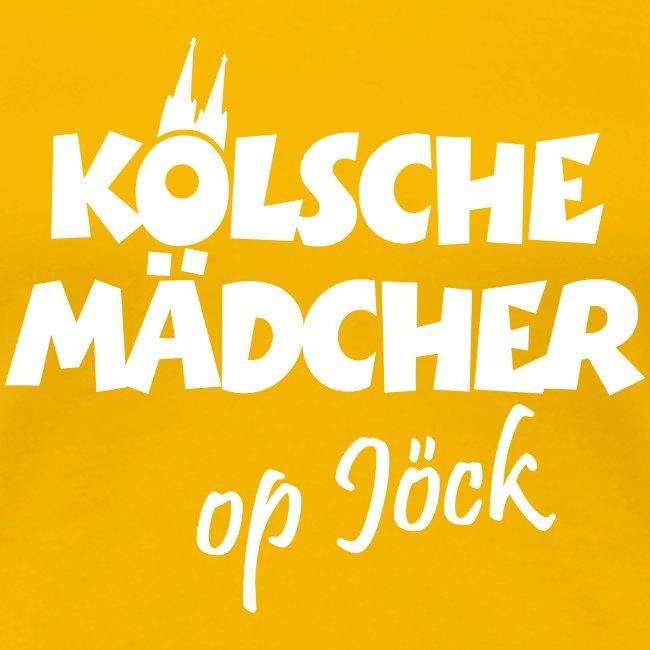 Kölsche Mädcher op Jöck Mädchen aus Köln Unterwegs