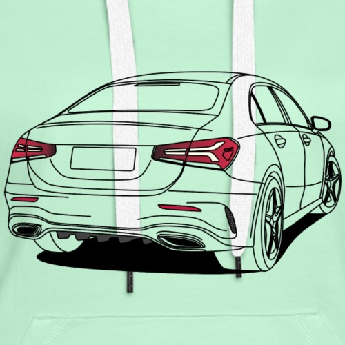Sports Saloon Outline