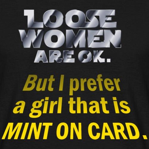 "Geschenkidee: Toy Collector Shirt ""Loose Women"""