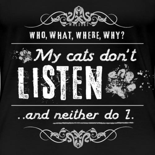 We don't listen Cats II