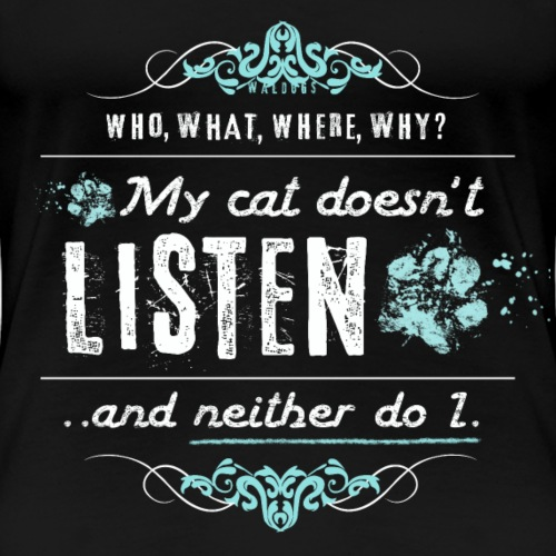 We don't listen Cat II