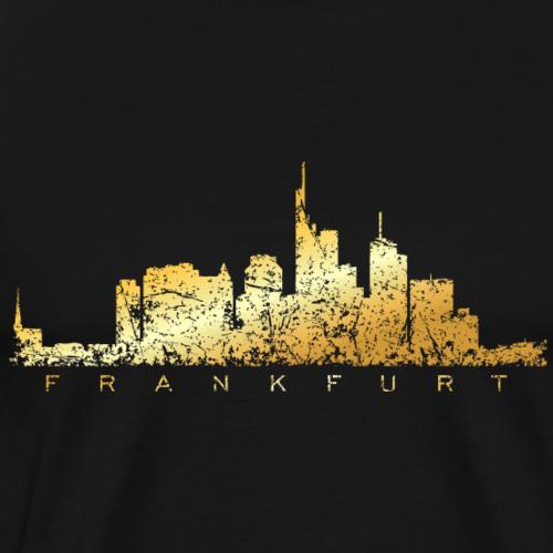 Frankfurt Skyline (Vintage Gold)