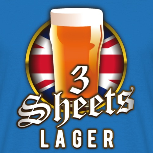 Beer Shirt Design 3 Sheets Lager