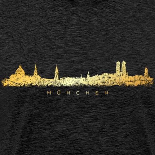 München Skyline (Vintage Gold)