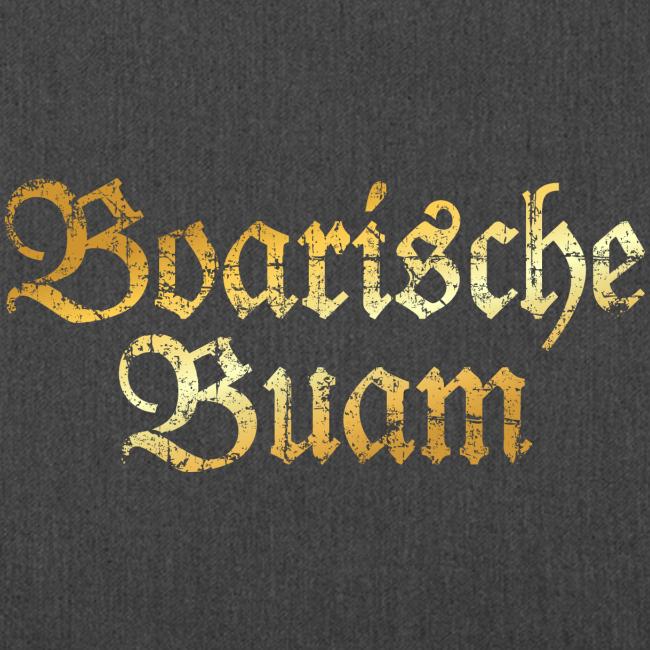 Boarische Buam Tasche (Vintage Gold)