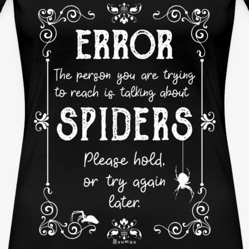 Error Spiders