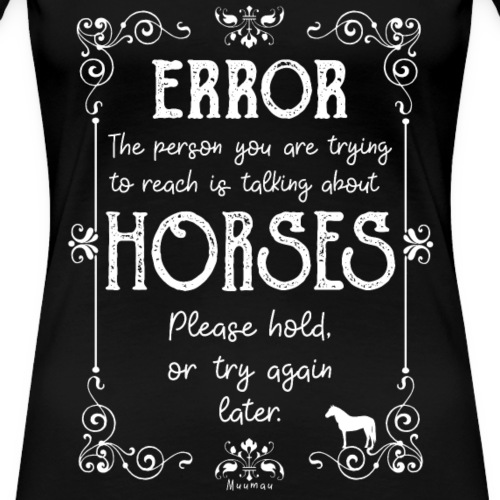 Error Horses