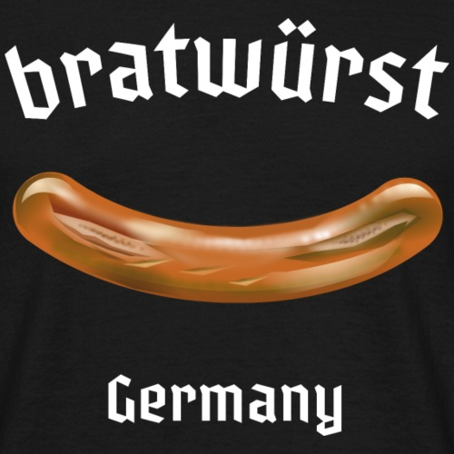 "lustiges Grill T Shirt ""Bratwurst"""