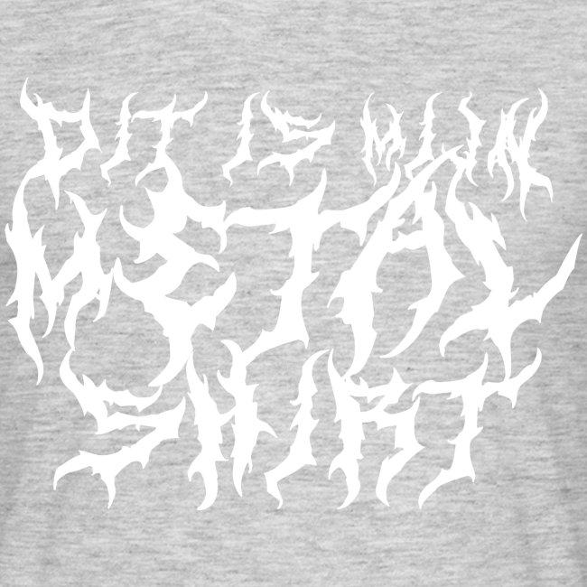 Metalshirt mannen t-shirt