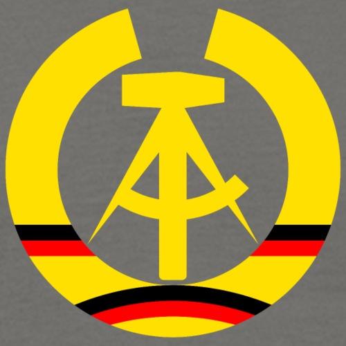 DDR Wappen stilisiert (alleinstehend)