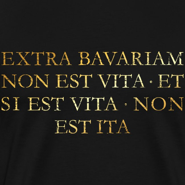 Extra Bavariam T-Shirt (Vintage Gold)