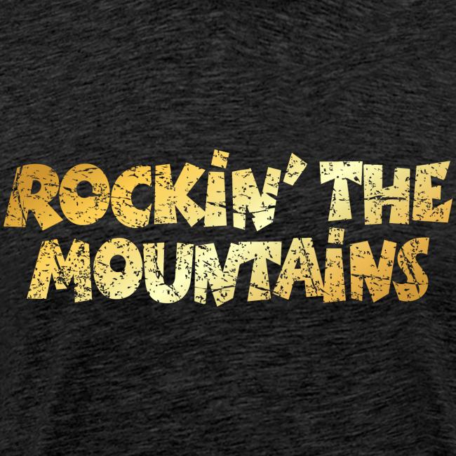 Rockin' the Mountains T-Shirt (Vintage Gold)