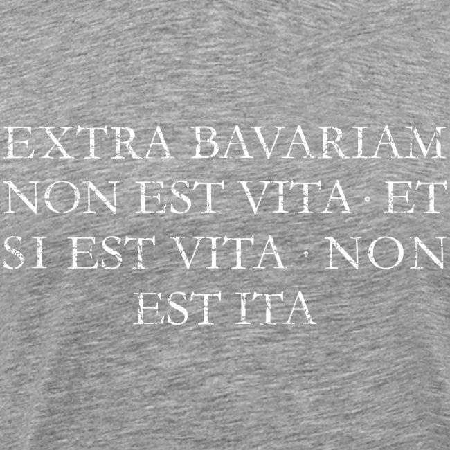 Extra Bavariam T-Shirt (Vintage Weiß)