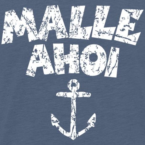 Malle Ahoi Mallorca Segel Design (Vintage Weiß)